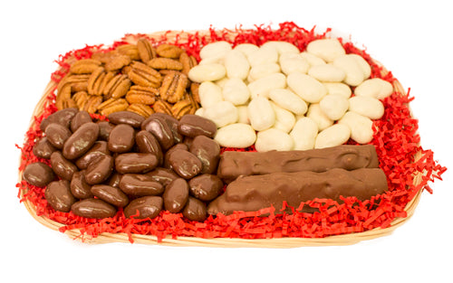 SUGAR FREE PECAN CANDIES GIFT BASKET