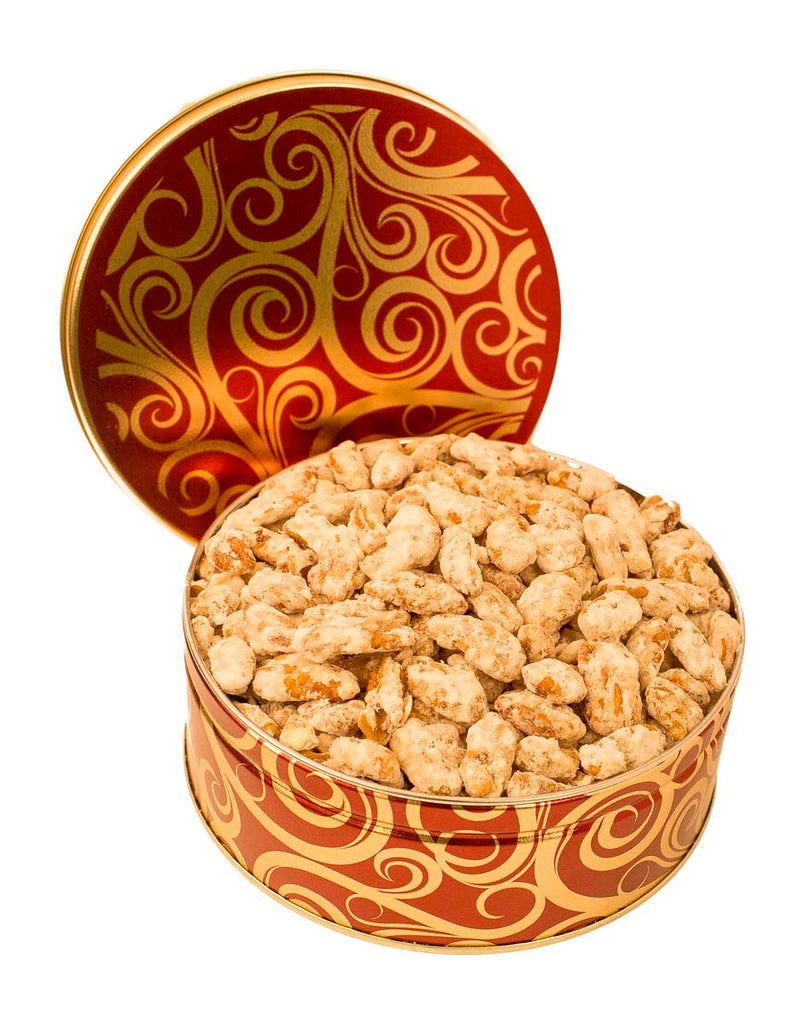 FROSTED PECAN GIFT TIN
