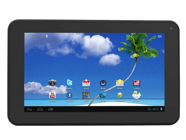 "Proscan 7"" Display Touch Screen Android Tablet 4.1 4GB Flash Storage, 1080P"