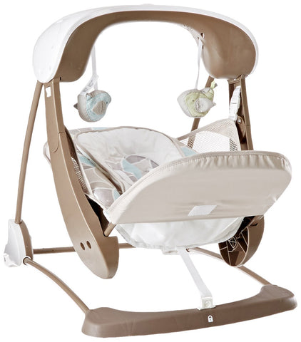 Fisher-Price Deluxe Take-Along Swing & Seat, Multicolor