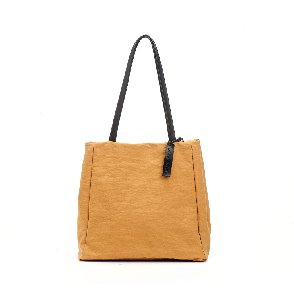 Mustard Yellow Everyday perfect Lightweight Fabric Tote Bag, shoppers Bag