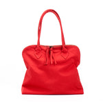 YOKO Red Vegan Lightweight Fabric Bag
