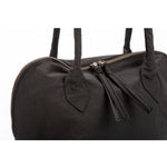 YOKO Black Vegan Lightweight Fabric Bag