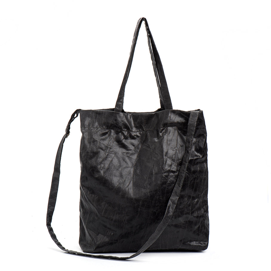 EMMA Black Oversize Vegan Shoulder bag