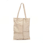 Black Square Stitches Tote Bag
