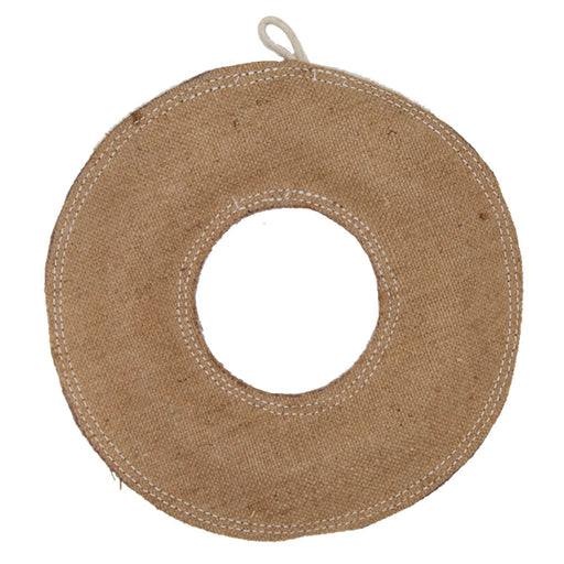 Jute Dog Toy - Donut