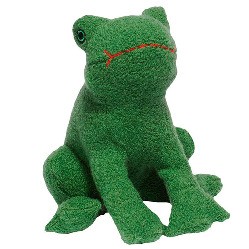Frog Woolie Toy (with Squeaker)