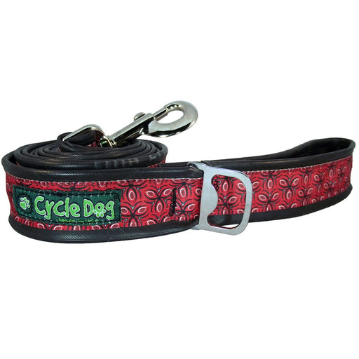 Eco-Dog Lead, Red Tri Style