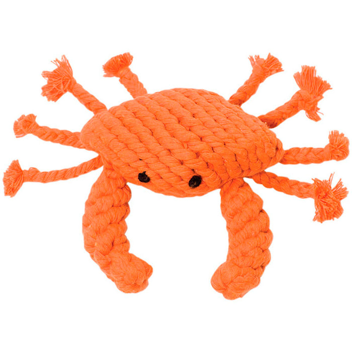 Crab Rope Toy 4""