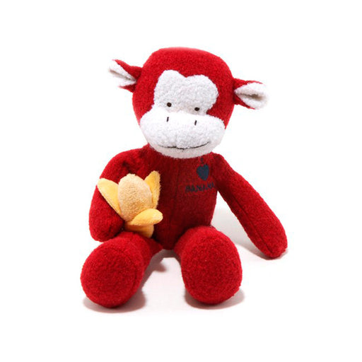 Woolie Monkey Toy (with Squeaker)