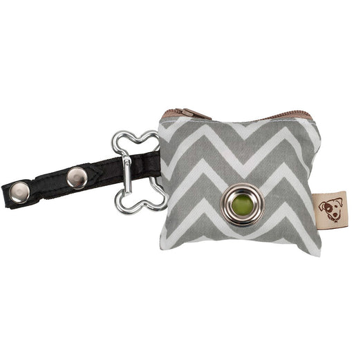 P.U.P Bag (Poo Bags dispenser), ZigZag Grey