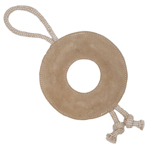 Donut Leather Eco-Toy for Dogs