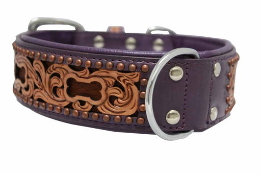 San Antonio Leather Collar