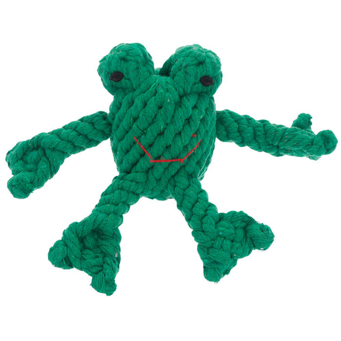 Frog Rope toy