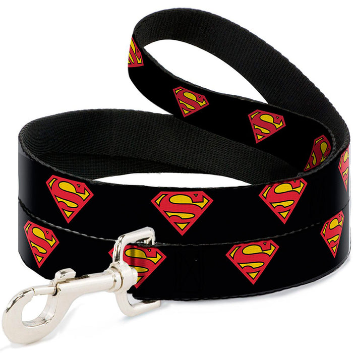 Black Superman Dog Lead