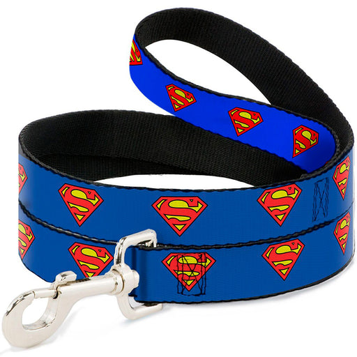 Blue Superman Dog Lead