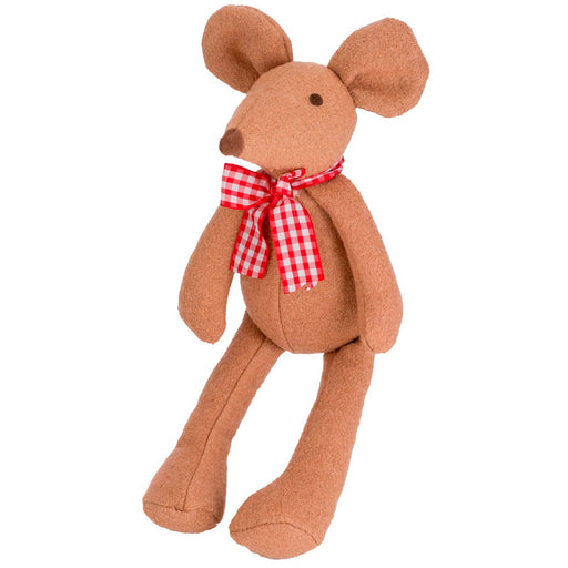 Woolie Country Mouse (With Squeaker)