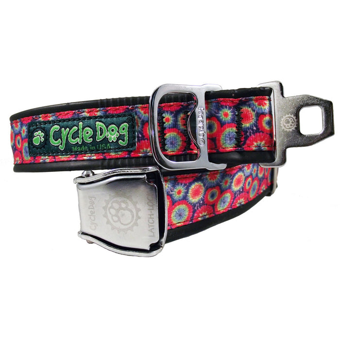 Eco-Dog Collar, Tie Dye