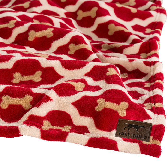Red Bone Blanket/Throw