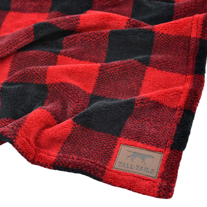 Fleece Blanket, Hunters Plaid