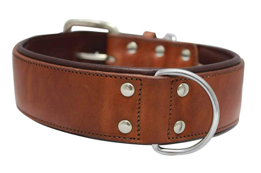 Dallas leather Collar
