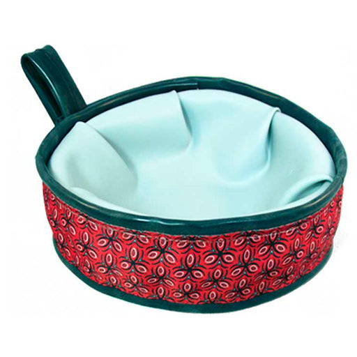 Eco-Dog Trail Buddy Bowl, Red Tri Style