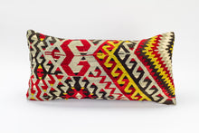 Single Kilim rug Pillow Cover 12x24 inches  (30x60 cm)