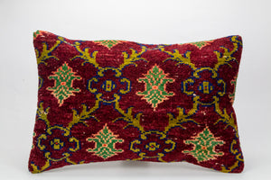 Single Kilim rug Pillow Cover 16x24 inches  (40x60 cm)