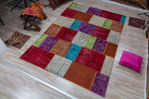 Patchwork Turkish Rug