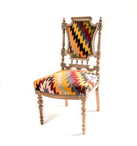 Authentic Kilim Rug Chair
