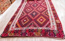 Semi Antique Kilim, Vintage Kilim Rug
