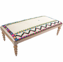 Unique Kilim Rug Bench