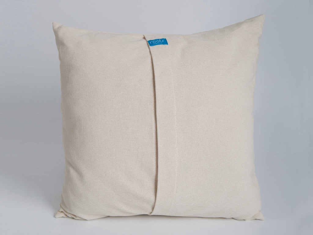PURE - Cotton Cushion Cover & Throw - livingroots uk