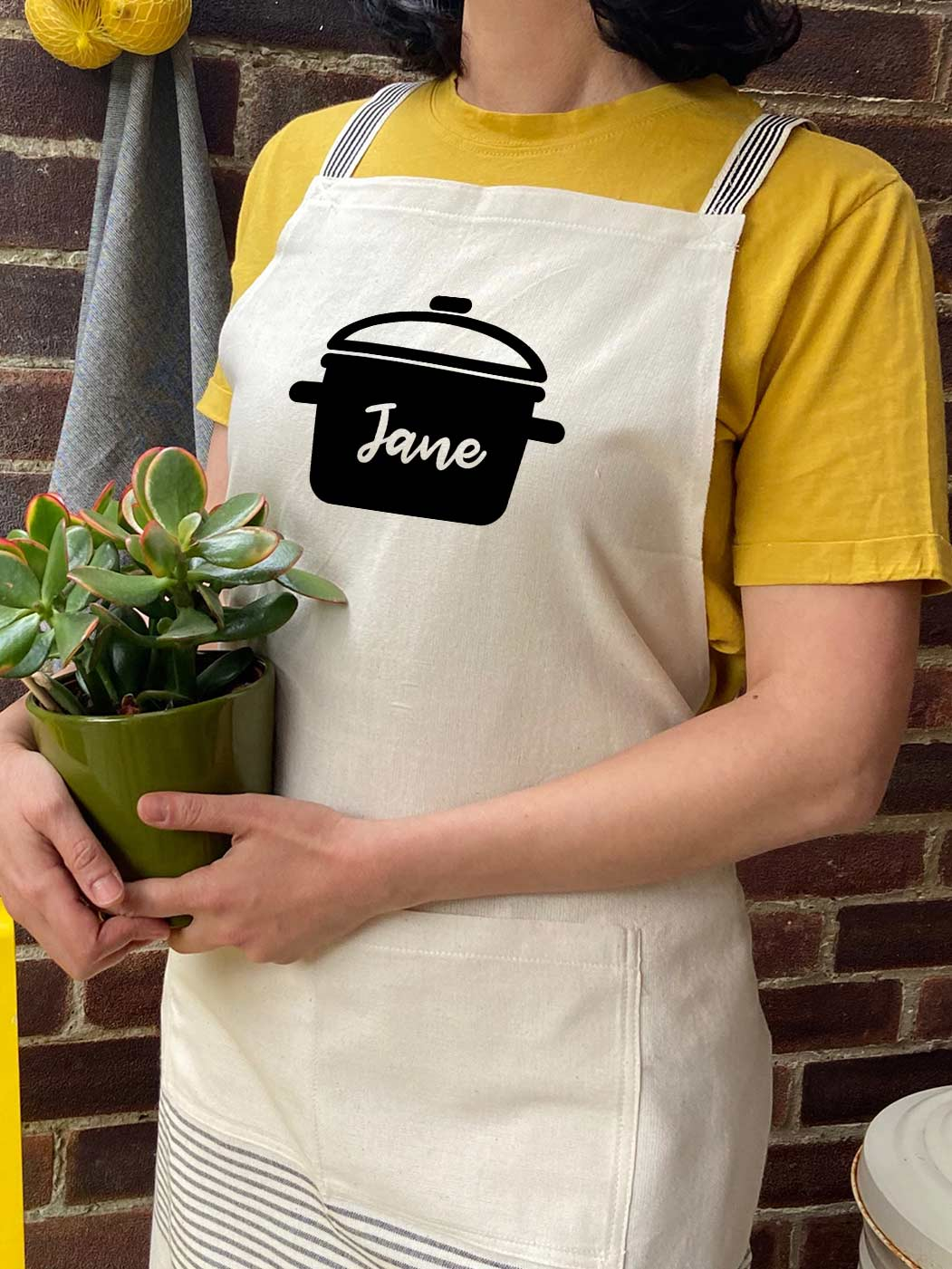 Custom Name Logo Printed Apron