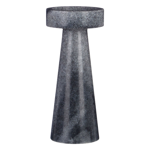 Kira Candle Holder (Small) Grey Marble