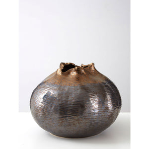 Aurora Metallic Vase Large