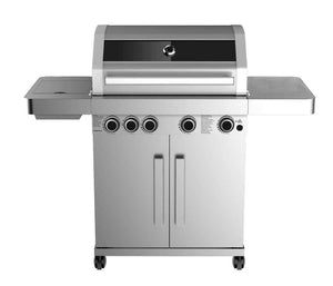 Grillstream Stainless Steel Gas BBQ - 4 Burner - cutout