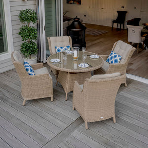 Oakridge 4 seat dining set full photo