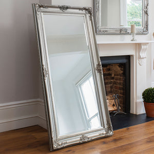 Hampstead Leaner Mirror (Silver)