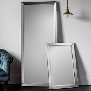 Layla Full Length Leaner Mirror and Layla rectangle Mirror