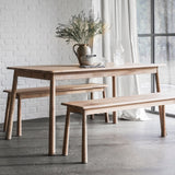 The Bergen Dining Table and Bench