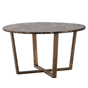 The Brown Marble Coffee Table