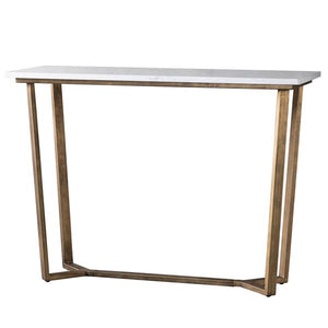 The White Marble Console Table