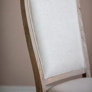 The Colonial Dining Chair Back pad