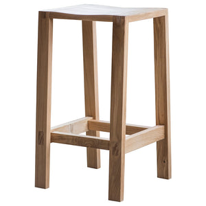 The Serenity Bar Stool cut out