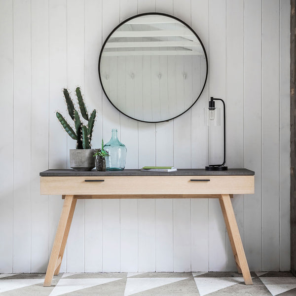 The Concrete Console Table