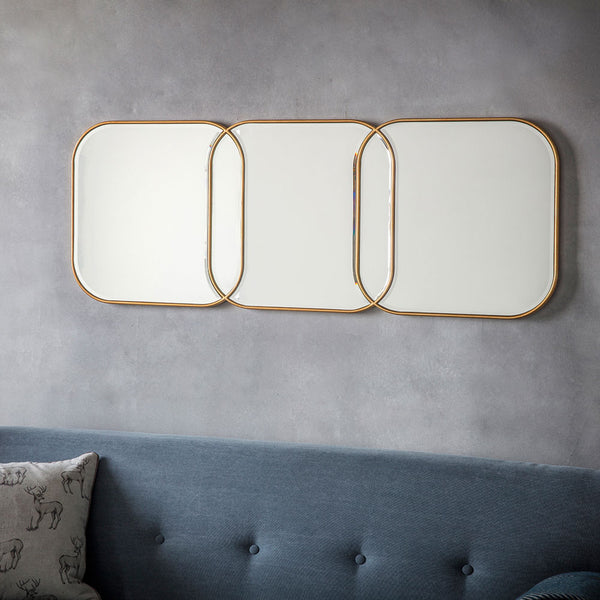 Deco Gold Mirror