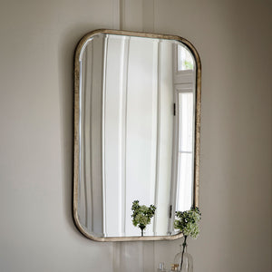 Thomas Rectangle Mirror on a wall