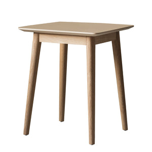 The Modern Light Oak Side Table