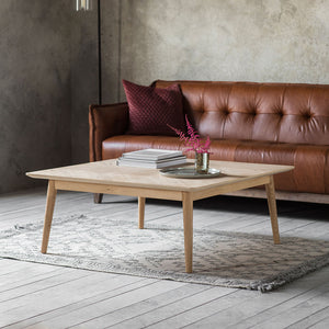 The Modern Light Oak Coffee Table